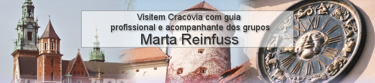 Visit Cracow with professional guide and tour leader  	Marta Reinfuss